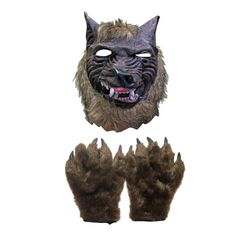 Our scary overhead werewolf Halloween mask and claw gloves is sure to cause quite a scare at your next Halloween party. Scary Halloween Masks, Scary Mask, Halloween Party, Claw Gloves, Werewolf, Claws, Lion Sculpture, Statue, Halloween Parties