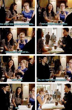 Barry, Iris, Oliver and Felicity #TheFlashvsArrow #1.8 <3