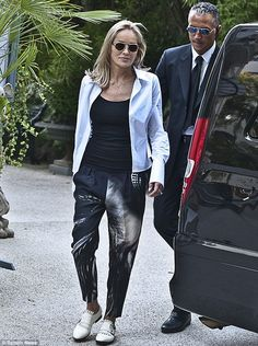 Love her pants and shoes