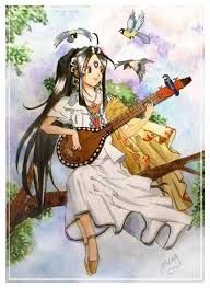 Image result for ah my goddess painting