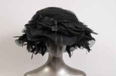 William J Petal and Tulle Hat