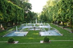 Longwood Gardens, PA - Loved these fountains and the flowing stairs nearby
