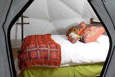 Camp #Colchagua - A peek inside a dome..