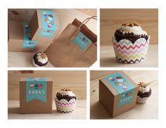 Kara's Cupcakes Rebrand Campaign by JENNIFER YBARRA, via Behance