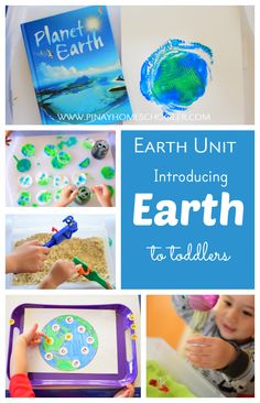 Learning about Earth for toddlers!