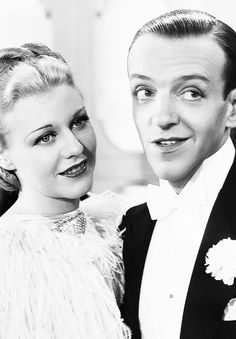 Ginger Rogers & Fred Astaire in Top Hat (1935)