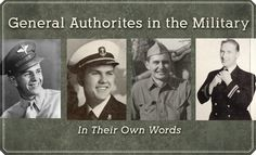General authorities of the Church have a rich tradition of serving in the military. Here are stories and testimonies from several recent prophets and apostles who have served in the armed forces. Click on each name to read the lessons they learned from their service in their own words, see photos of their younger selves, and watch videos about their experiences.