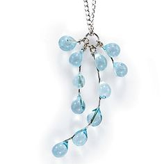 99 Days of Summer | Day 44. Get yourself some coastal bling | CoastalLiving.com - Go coastal glam. What better beachy bauble than a necklace or bracelet made from sea glass? Browse options at tearsofthesea.com.