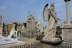 10 Fun things to do in Barcelona. from www.actoftravelling.com Poble Nou cemetery by Emiel van den Boomen, via Flickr