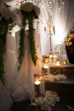 Conventino Ballroom entrance decorations detail