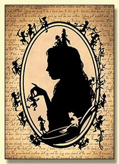 Tiffany Aching Papercut Greetings Card