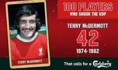 100PWSTK: 42. Terry McDermott - Liverpool FC