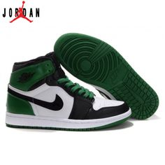 a7f88bd4dacf 332558-101 Air Jordan 1 high retro (gs) boston celtics white black varsity