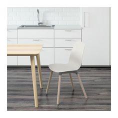 LEIFARNE Chair, white, Ernfrid birch