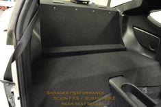 Scion FRS / Subaru BRZ Rear Seat Delete - Shrader Performance