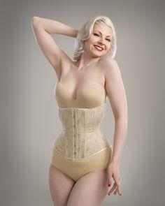 Skintone waist corset by Anni Hiro/hironia www.hironia.com