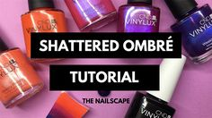 A new twist on the traditional ombré  http://www.thenailscape.com/heres-how-to-shatter-your-ombre/