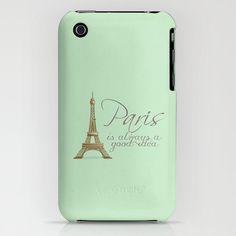 Paris Mint Green Audrey Hepburn Samsung S4 by secretgardentwo, £23.50