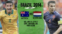Australia vs Netherlands Live Stream Info FIFA World Cup Preview 2014. http://www.watchcriclive.com/news/?p=624