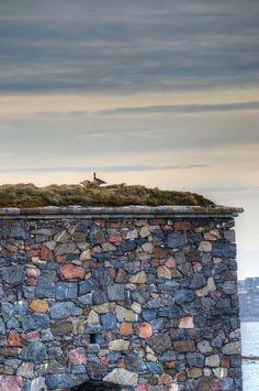 HDR in Helsinki: Goose Wall Suomenlinna
