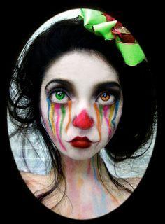 Clown Makeup Ideas | Clowns | Pinterest | Makeup ideas, Clowns and ...