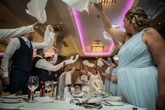 Fiona Deane surprised their guests at the Brehon Hotel by having a singing chef perform after dinner Real Weddings, Singing, Entertaining, Dinner, Concert, Dining, Food Dinners, Concerts, Funny