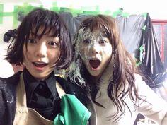 二階堂ふみ、高畑充希 Fumi Nikaido, Mitsuki Takahata Japanese actress