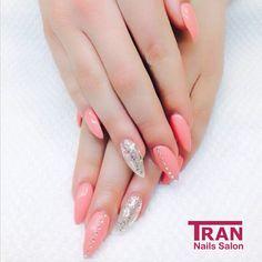 Glitter Power #trannails #nageldesign #nagelstudioerbach #nailart #wallofnails #gel #manicure