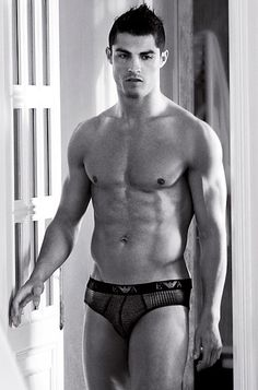 Hot Portuguese soccer star...Cristiano Ronaldo...did I say hot??? Oh MY!!!