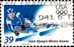 USA.  OLYMPIC WINTER GAMES 2006, TURIN, ITALY. Scott 3995 A3049, Issued 2006 Jan 11,  Litho., SDC 10 3/4 SA,  39. /ldb.