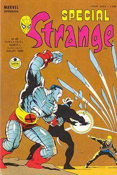 Couverture de Spécial Strange -69- Spécial Strange 1990