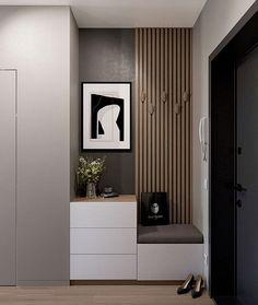 Small Apartment Interior, Hall Interior, Apartment Design, Home Hall Design, Home Interior Design, House Design, Hallway Furniture, Home Decor Furniture, Entrance Hall Decor