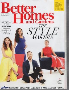 Better Homes and Gardens September 2016 - Setting Trends Cameron Diaz Style | eBay