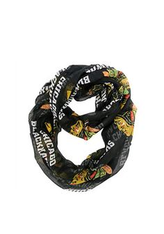 Chicago Blackhawks Sheer Infinity Womens Scarf