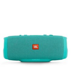 Waterproof JBL Charge portable wireless speaker with high quality sound features noise and echo-cancelling speakerphone, and can recharge phones/tablets. Audio Store, Waterproof Speaker, Bluetooth Speakers, Charger, Confessions, Shop, Products, Stuff Stuff, Gadget