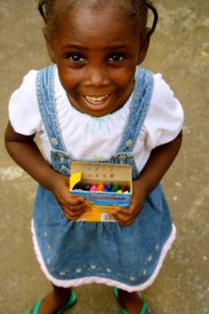 crayons. monrovia, liberia.