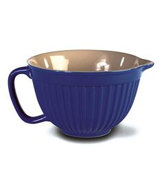 Take a look at this Blue Batter Bowl by Omniware Inc.  on #zulily today!  Also in Black, White