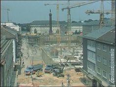Darmstadt früher   Bau von CityTunnel & Luisencenter (1977)