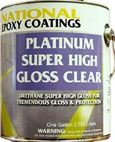 Platinum Non Yellowing Urethane™ High Gloss Clear Is A Premium  Solvent Based Urethane