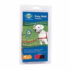 PetSafe Easy Walk Dog Harness, Medium, Red /Black