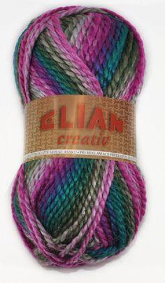 Pletací příze ELIAN CREATIV 842 fialová . a640110be6