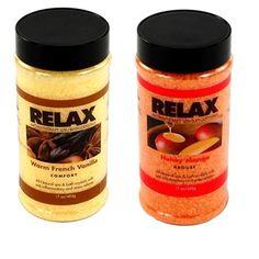 Honey Mango & Warm French Vanilla Aromatherapy Crystals - 2 Pack