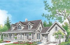 Home Plan The Beckett by Donald A. Gardner Architects