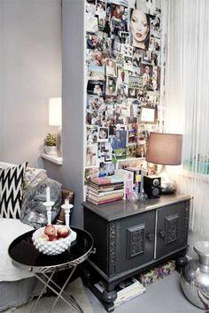 Si te gusta decorar con fotos, hoy te proponemos una idea muy concreta: crear en un tu casa un rincón para tus recuerdos...