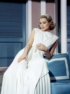 Grace Kelly's grecian swim coverup in High Society