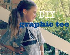 Green Owl Art: DIY Graphic Tee for Back to School