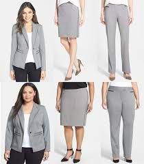 Suit of the Week: Halogen Grey Fashion, Work Fashion, Interview Suits, Girls Pants, Working Woman, Simple Outfits, Suits For Women, Give It To Me, Style Inspiration