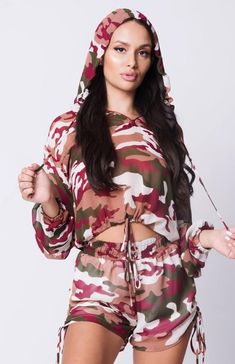 Army Print Hoodie Set – Mercantile Americana Everything Army Print, Thick And Fit, Online Shopping For Women, Curvy Fashion, Women's Fashion, Affordable Fashion, Hoodies, Clothes For Women, Long Sleeve