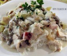 A csirke legjava: csirkemell és csirkecomb | Receptek | Mindmegette.hu Poultry, Risotto, Potato Salad, Potatoes, Lunch, Meat, Chicken, Cooking, Healthy