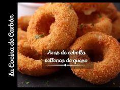 Cómo hacer aros de cebolla crujientes / Receta fácil - YouTube
